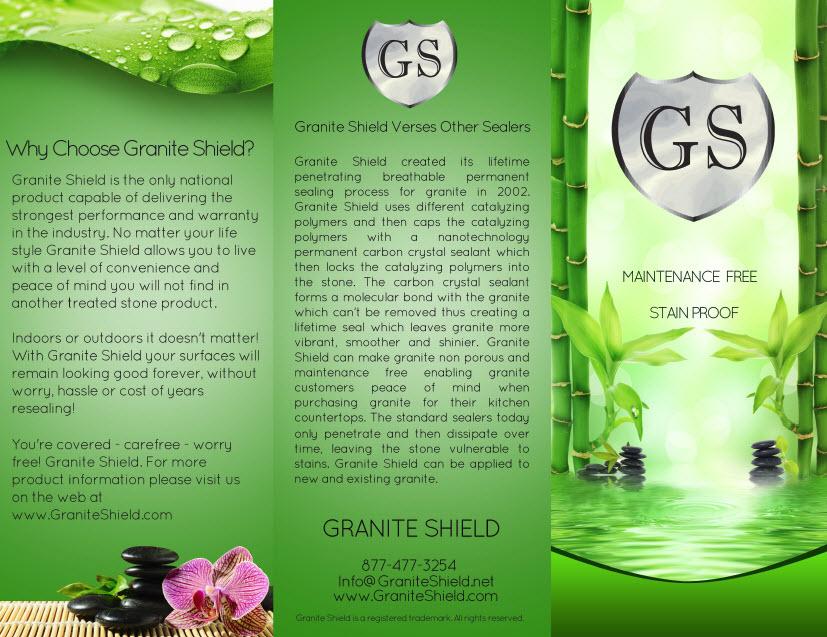 Granite Shield Countertops Care Amp Use The Process