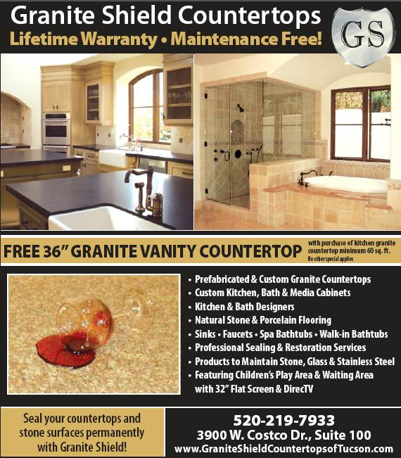 Granite Shield Countertops - 3900 W. Costco Dr. Suite 100 Tucson ...